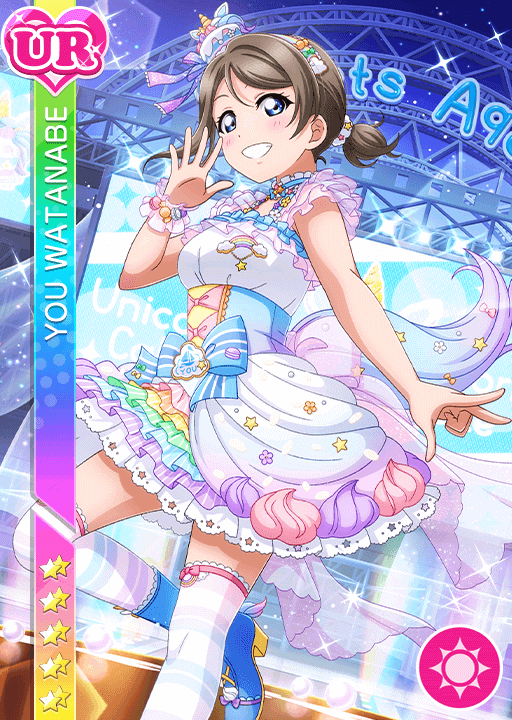 #2561 Watanabe You UR idolized