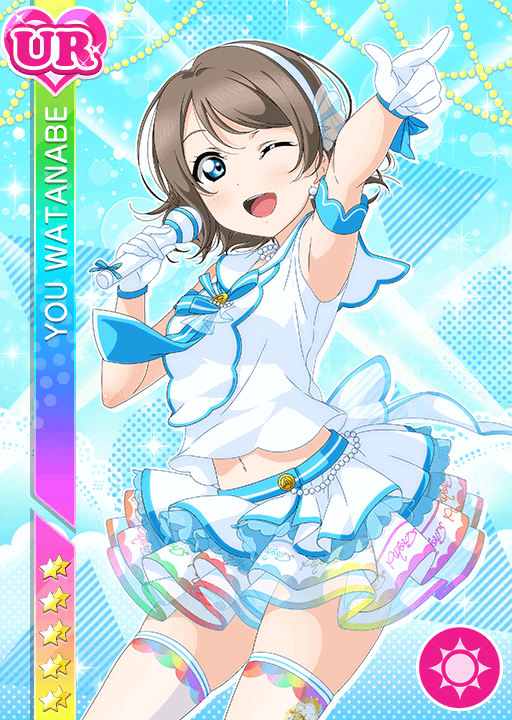 #2600 Watanabe You UR idolized