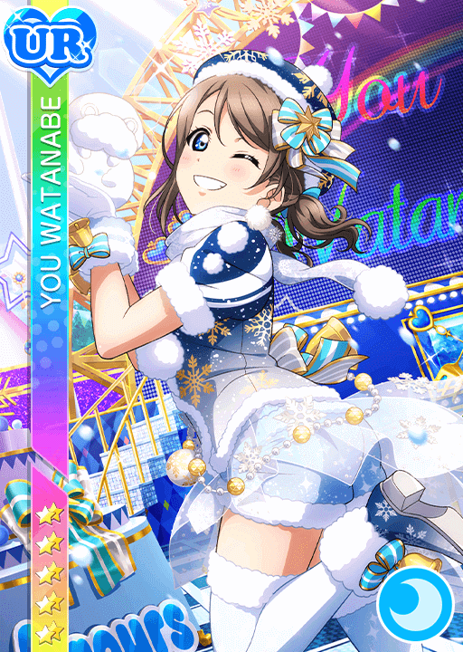 #2615 Watanabe You UR idolized