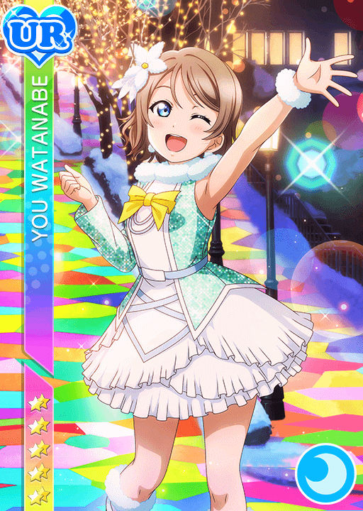 #2632 Watanabe You UR idolized