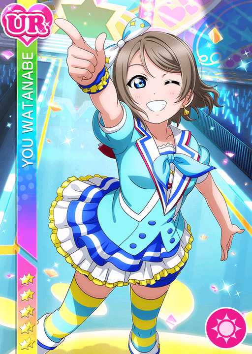 #2698 Watanabe You UR idolized