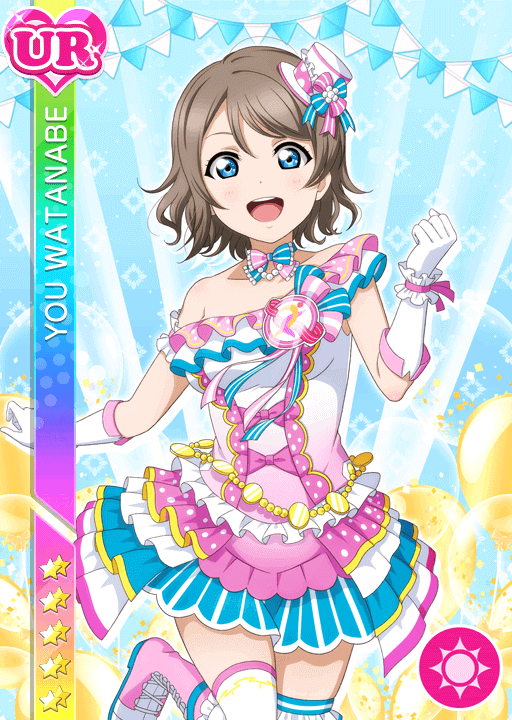 #2727 Watanabe You UR idolized