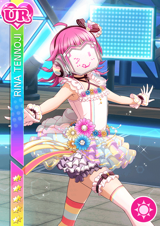 #2759 Tennoji Rina UR idolized