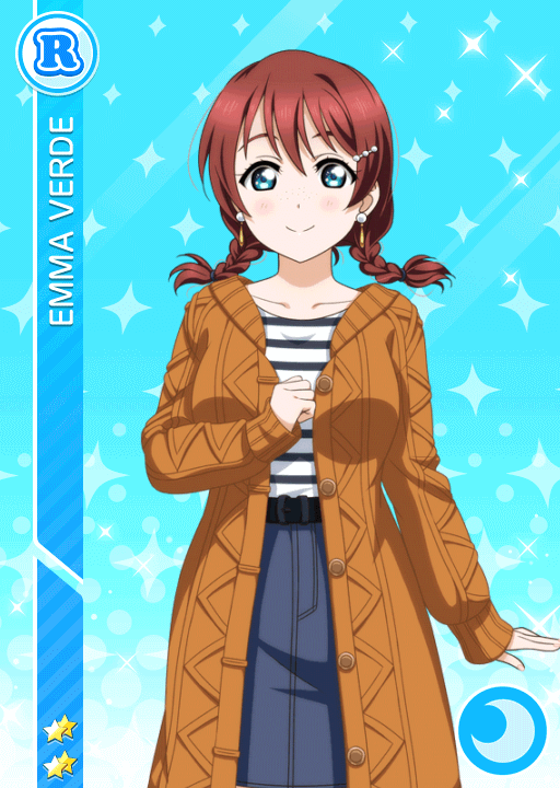 #2771 Emma Verde R idolized