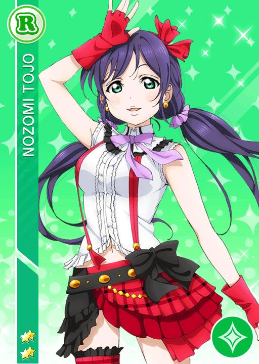 #290 Toujou Nozomi R idolized