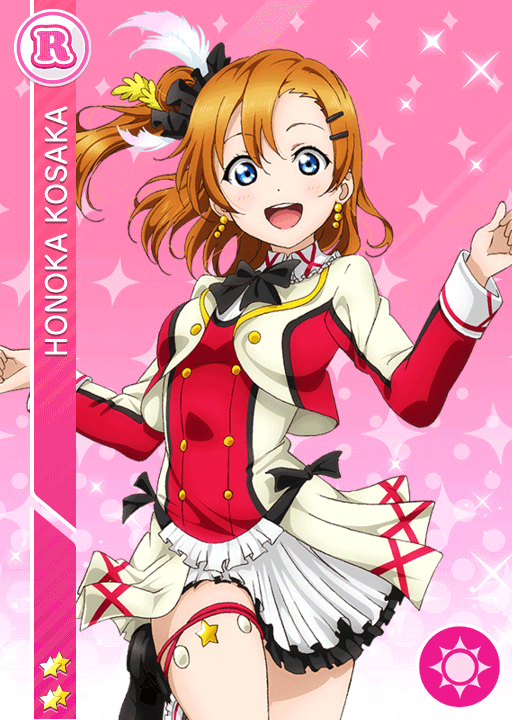 #298 Kousaka Honoka R idolized