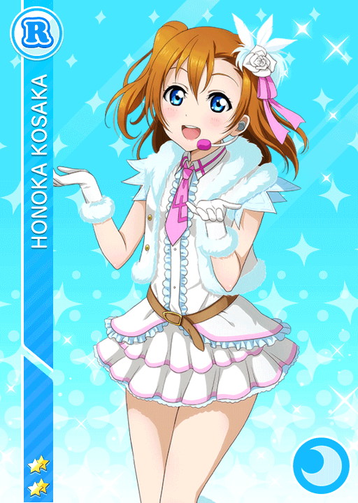 #334 Kousaka Honoka R idolized