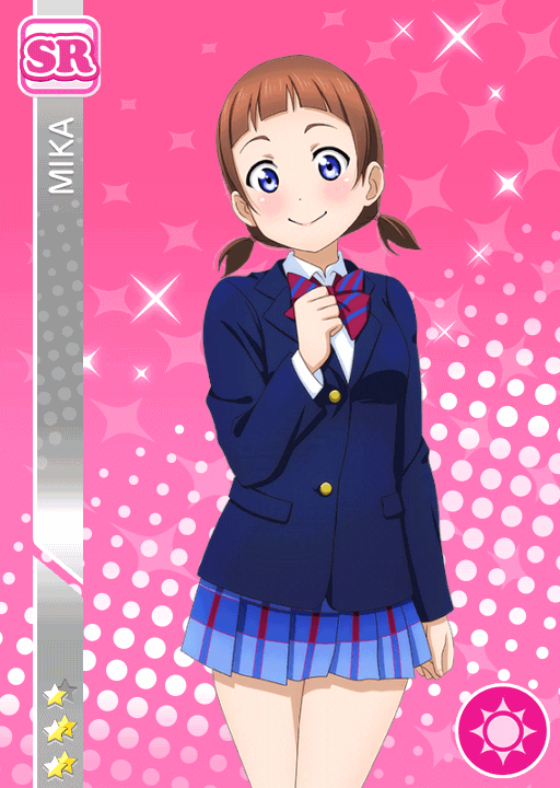 #383 Mika SR idolized