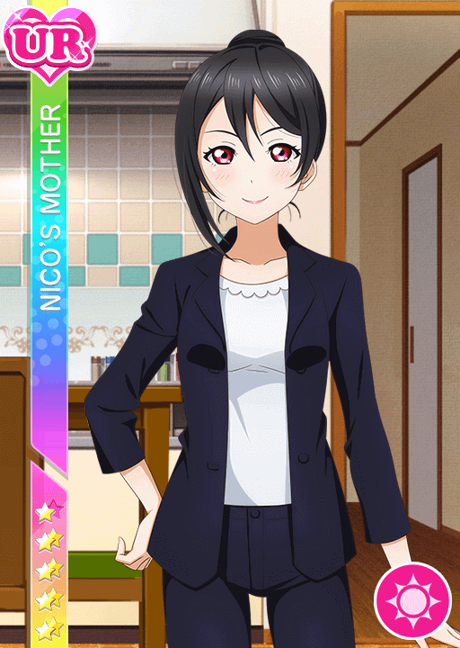 #387 Nico's Mother UR idolized