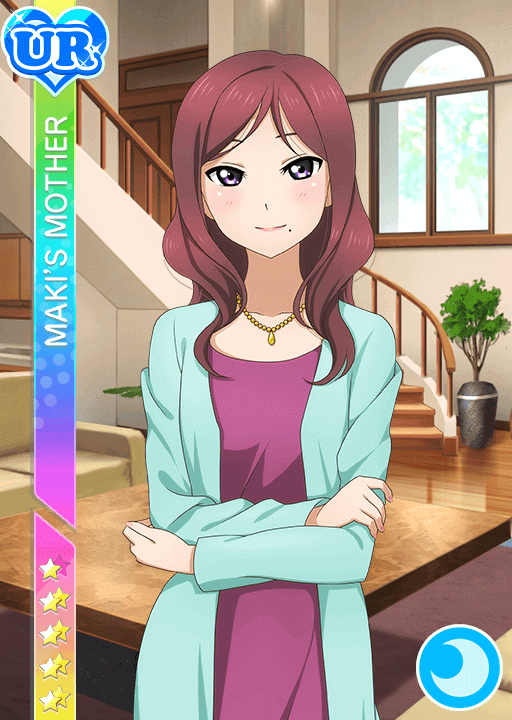 #389 Maki's Mother UR idolized