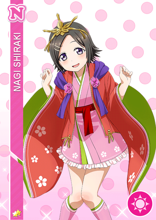 #550 Shiraki Nagi N idolized