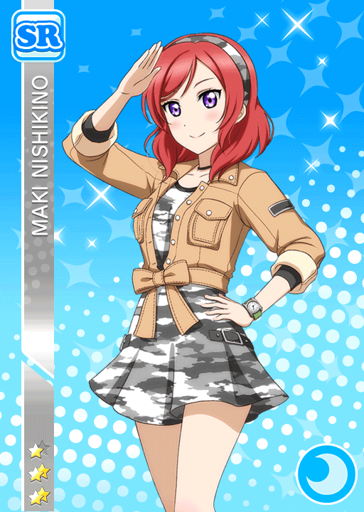 #595 Nishikino Maki SR