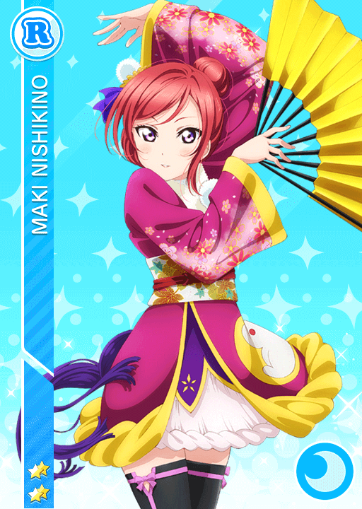 #615 Nishikino Maki R idolized