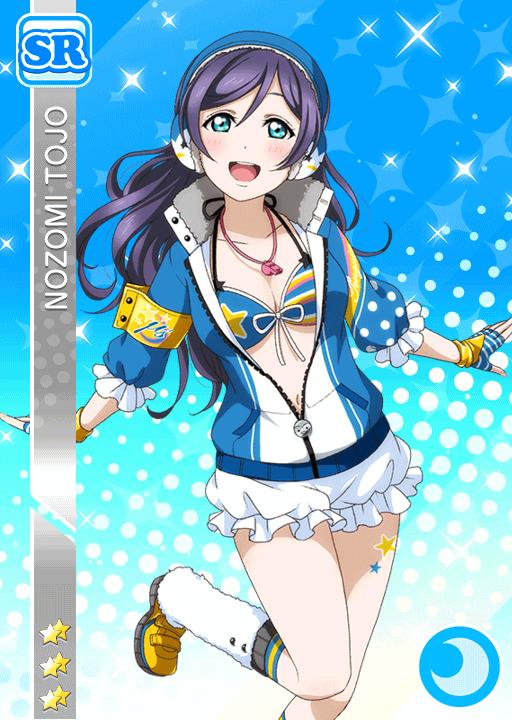 #698 Toujou Nozomi SR idolized