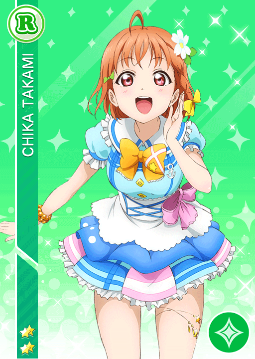 #786 Takami Chika R idolized