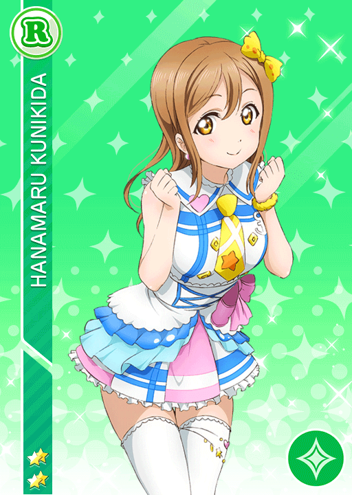 #792 Kunikida Hanamaru R idolized