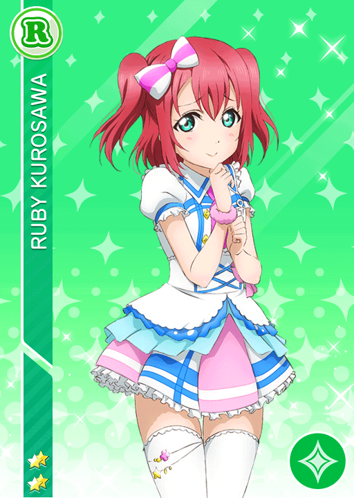 #794 Kurosawa Ruby R idolized