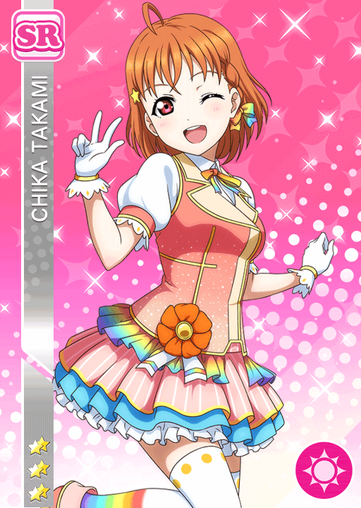 #894 Takami Chika SR idolized