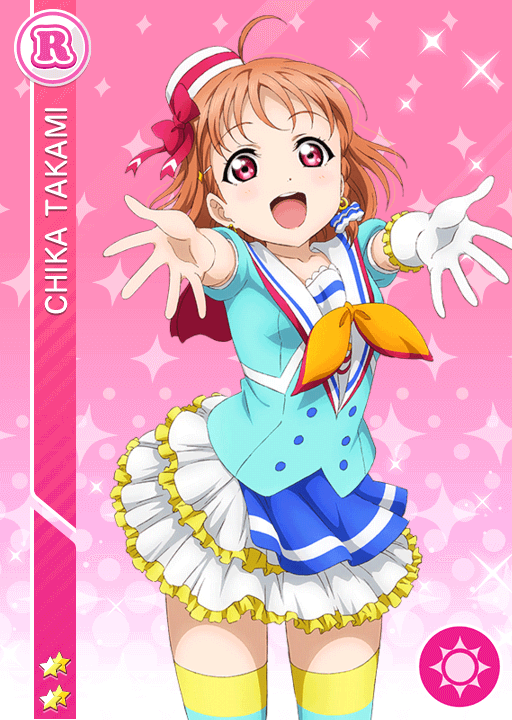 #910 Takami Chika R idolized