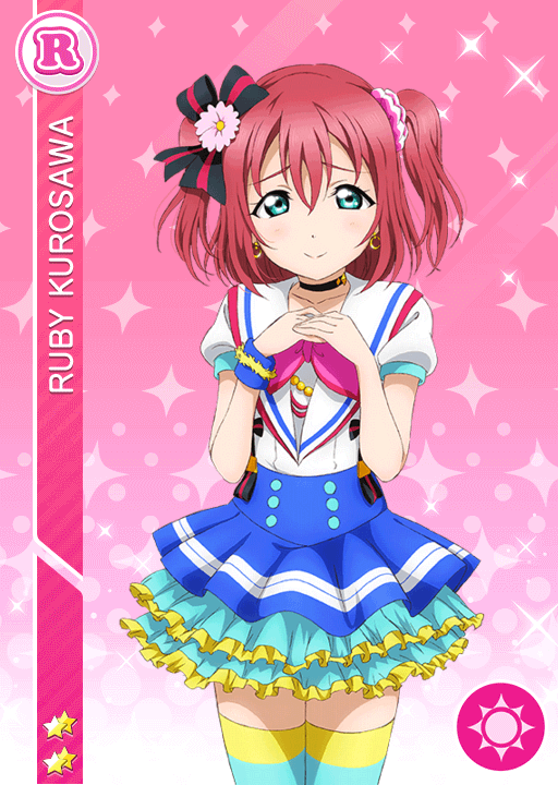 #918 Kurosawa Ruby R idolized