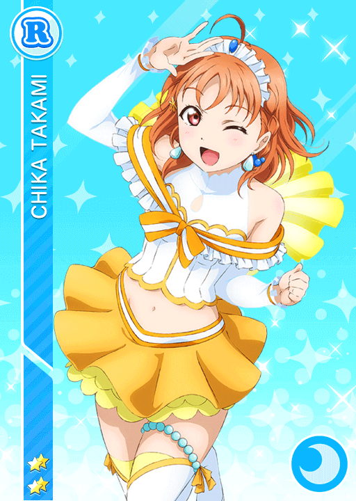 #919 Takami Chika R idolized