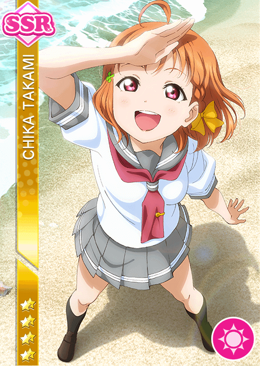 #946 Takami Chika SSR idolized