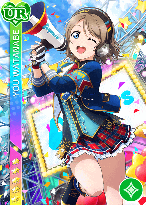 #957 Watanabe You UR idolized