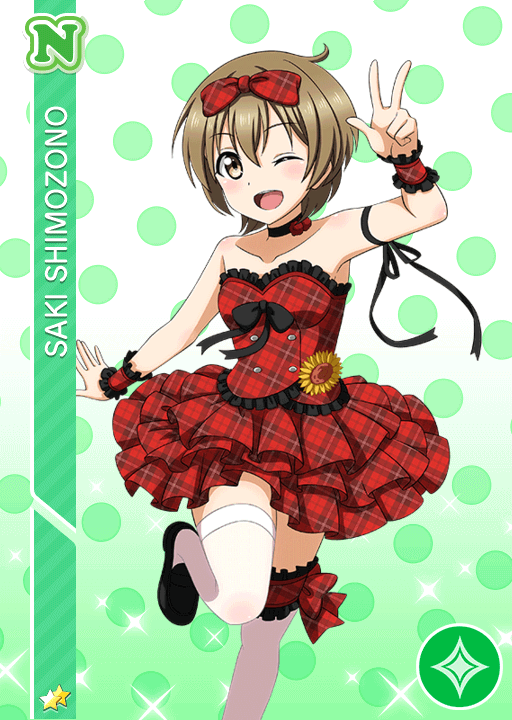 #981 Shimozono Saki N idolized