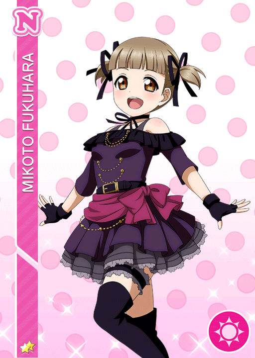 #986 Fukuhara Mikoto N idolized