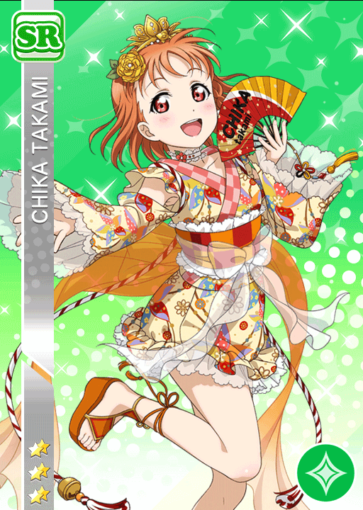 #993 Takami Chika SR idolized