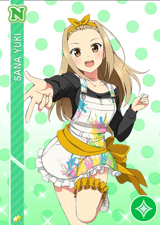 #998 Yuuki Sana N idolized