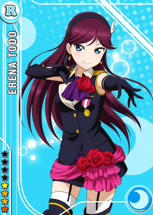 High School Ranking >> School Idol Tomodachi - Cards Album: #839 Toudou Erena R