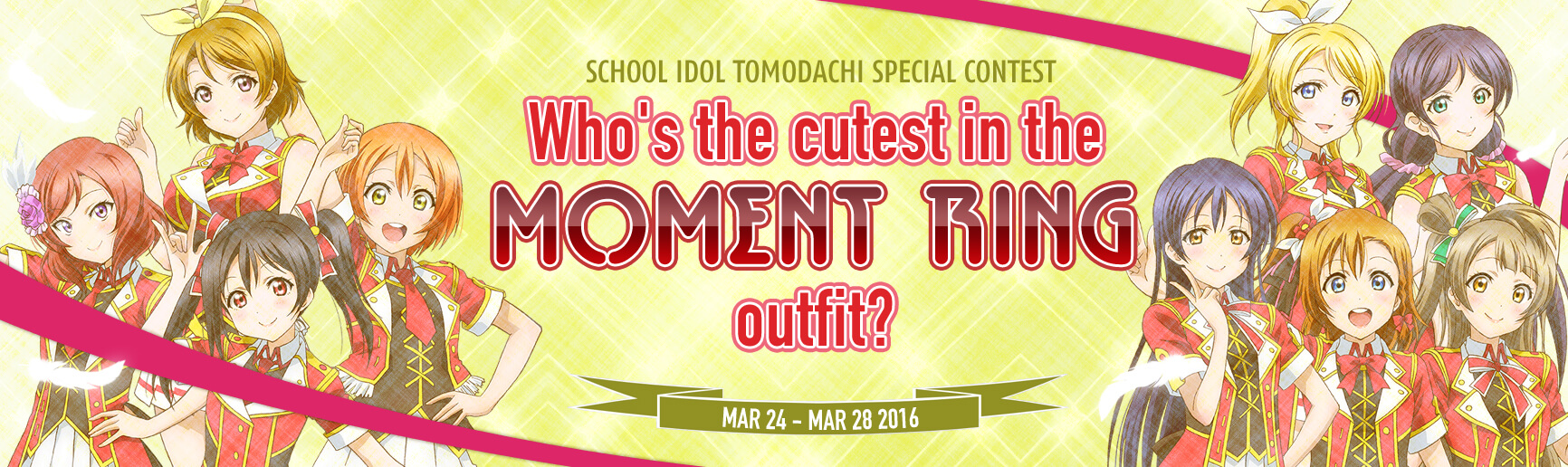 Who's the cutest in the Moment Ring outfit?
