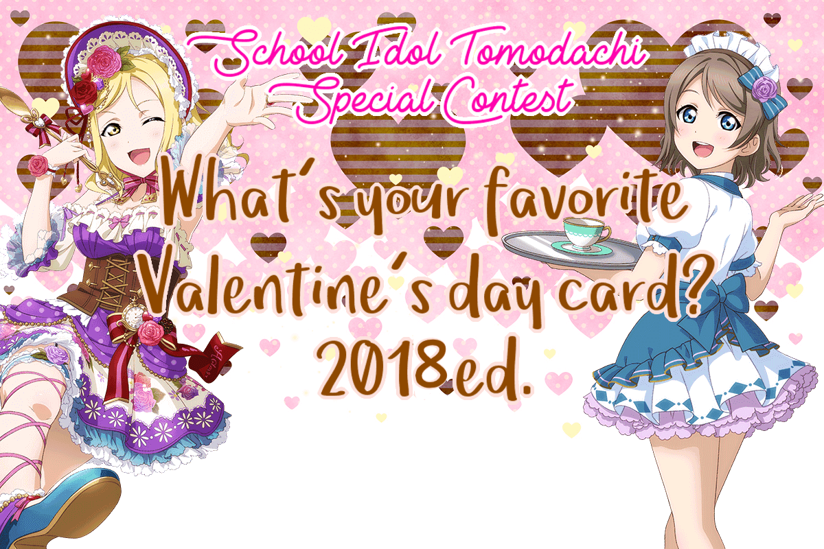 Who would be your perfect Valentine? 2018 ed.