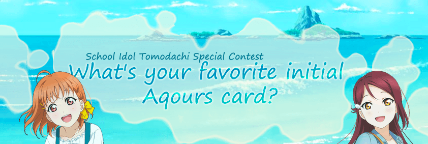 What's your favorite initial Aqours card?