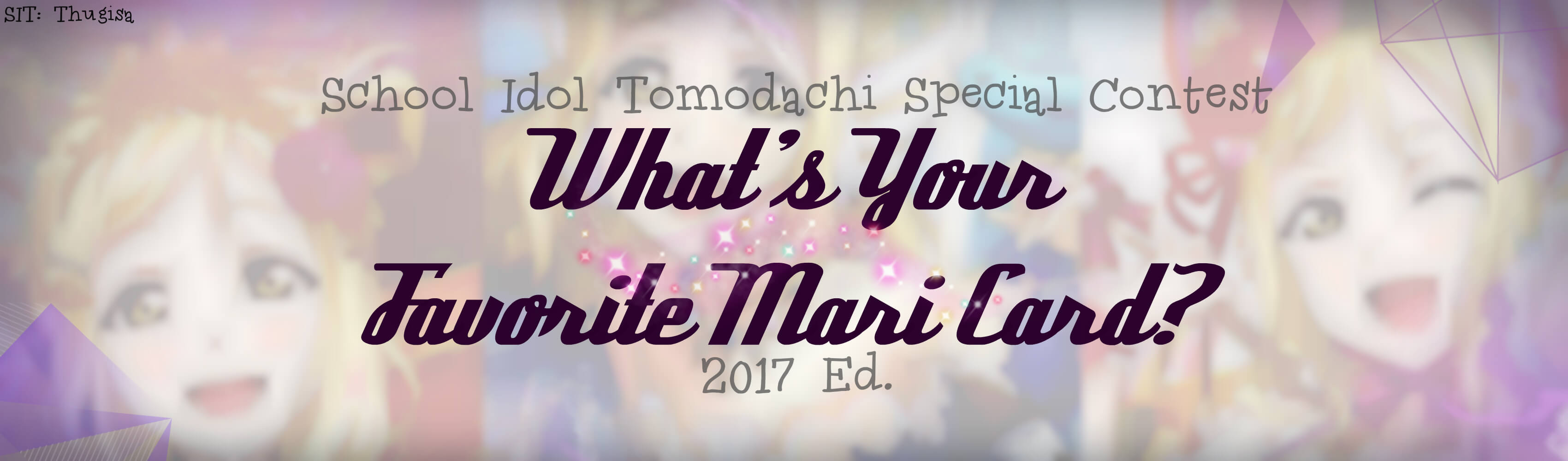 What's your favorite Mari card? 2017 ed.