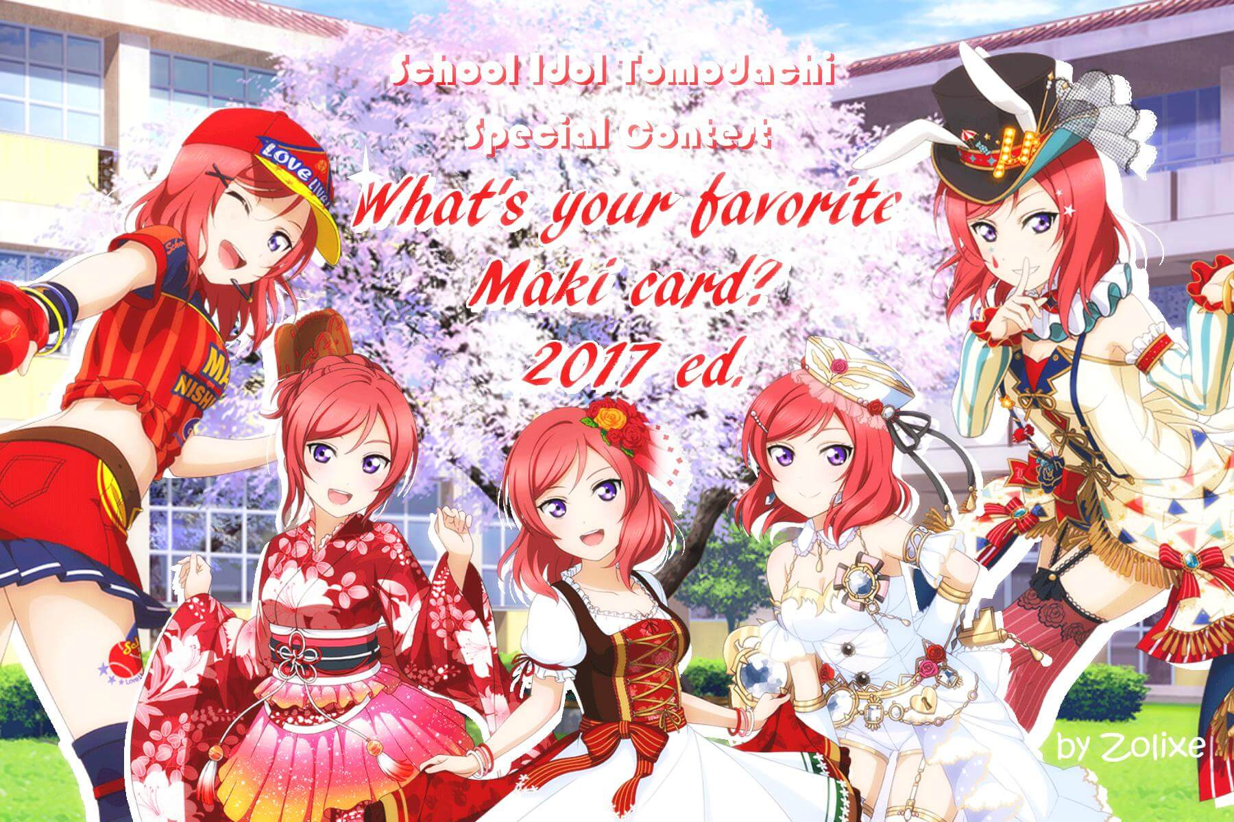 What's your favorite Maki card? 2017 ed.