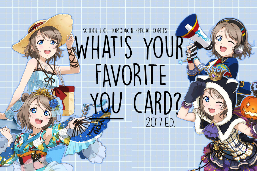 What's your favorite You card? 2017 ed.