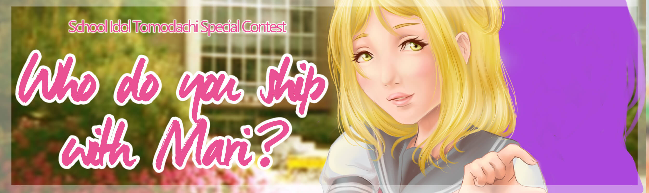 Who do you ship with Mari?