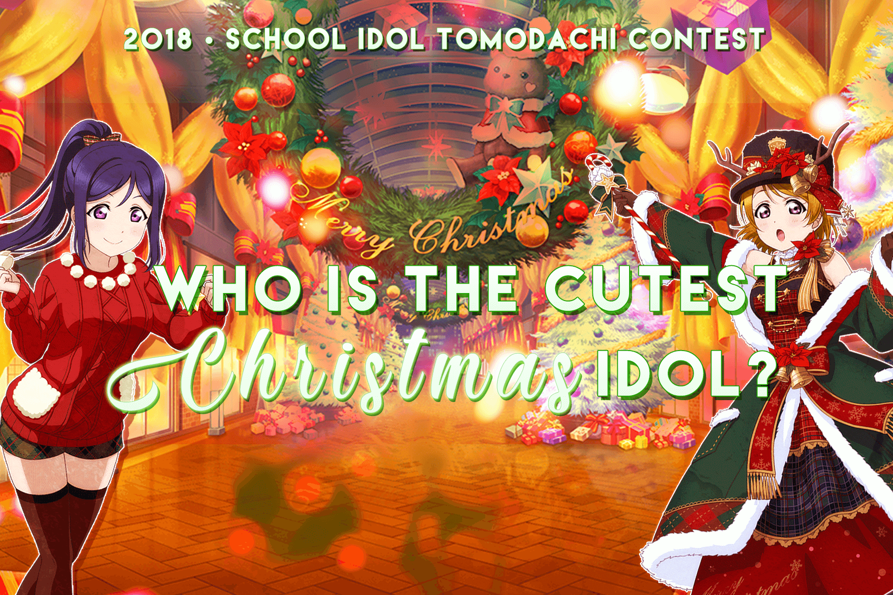 Who is the cutest Christmas idol? 2018 ed.