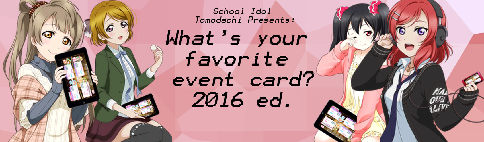 What's your favorite event card? 2016 ed.