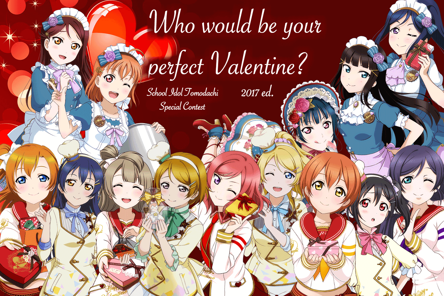 Who would be your perfect Valentine? 2017 ed.