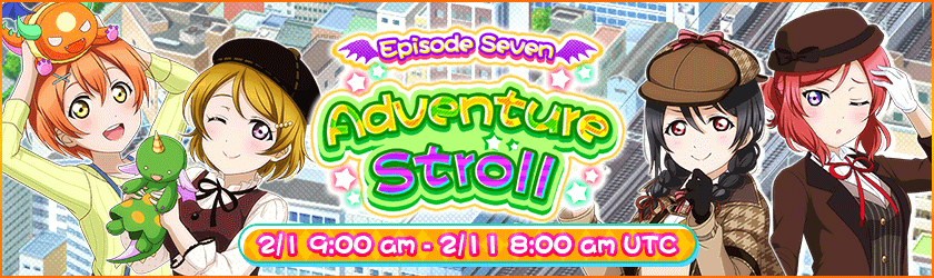 Episode 7 ADVENTURE STROLL