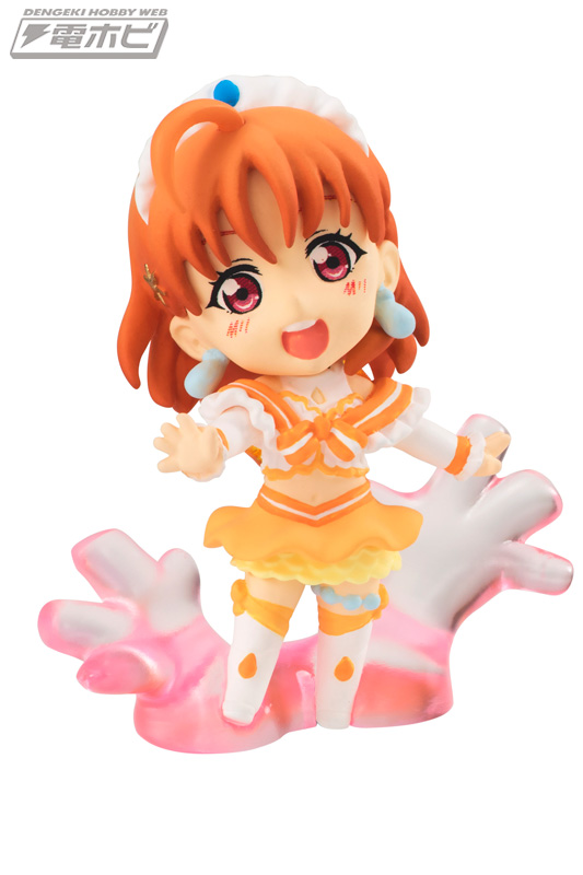 Chika Koi ni naritai ni Aquarium mini figure