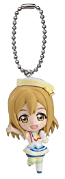 Hanamaru Aozora Jumping Heart mini figure strap