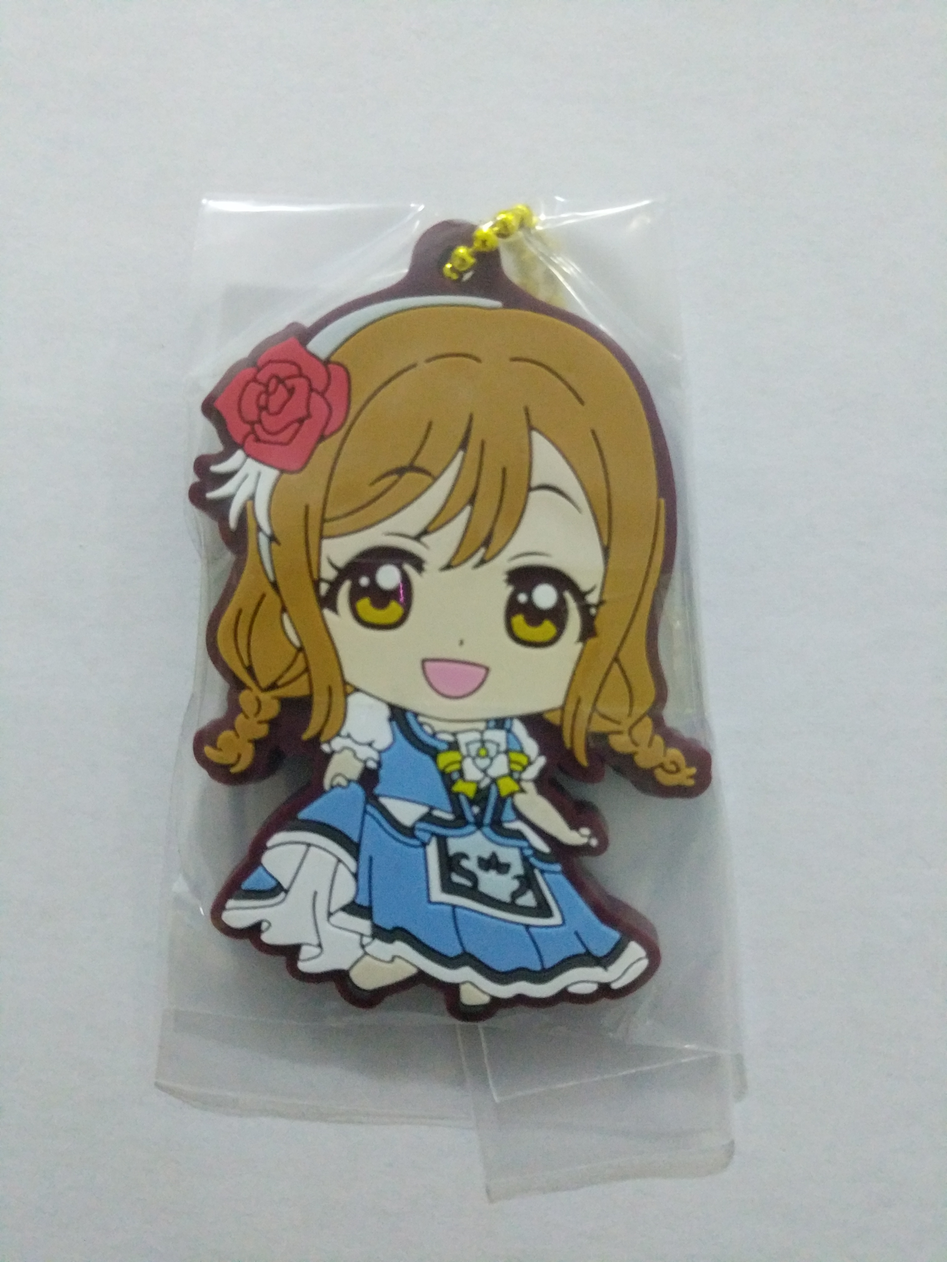 WATER BLUE NEW WORLD rubber strap