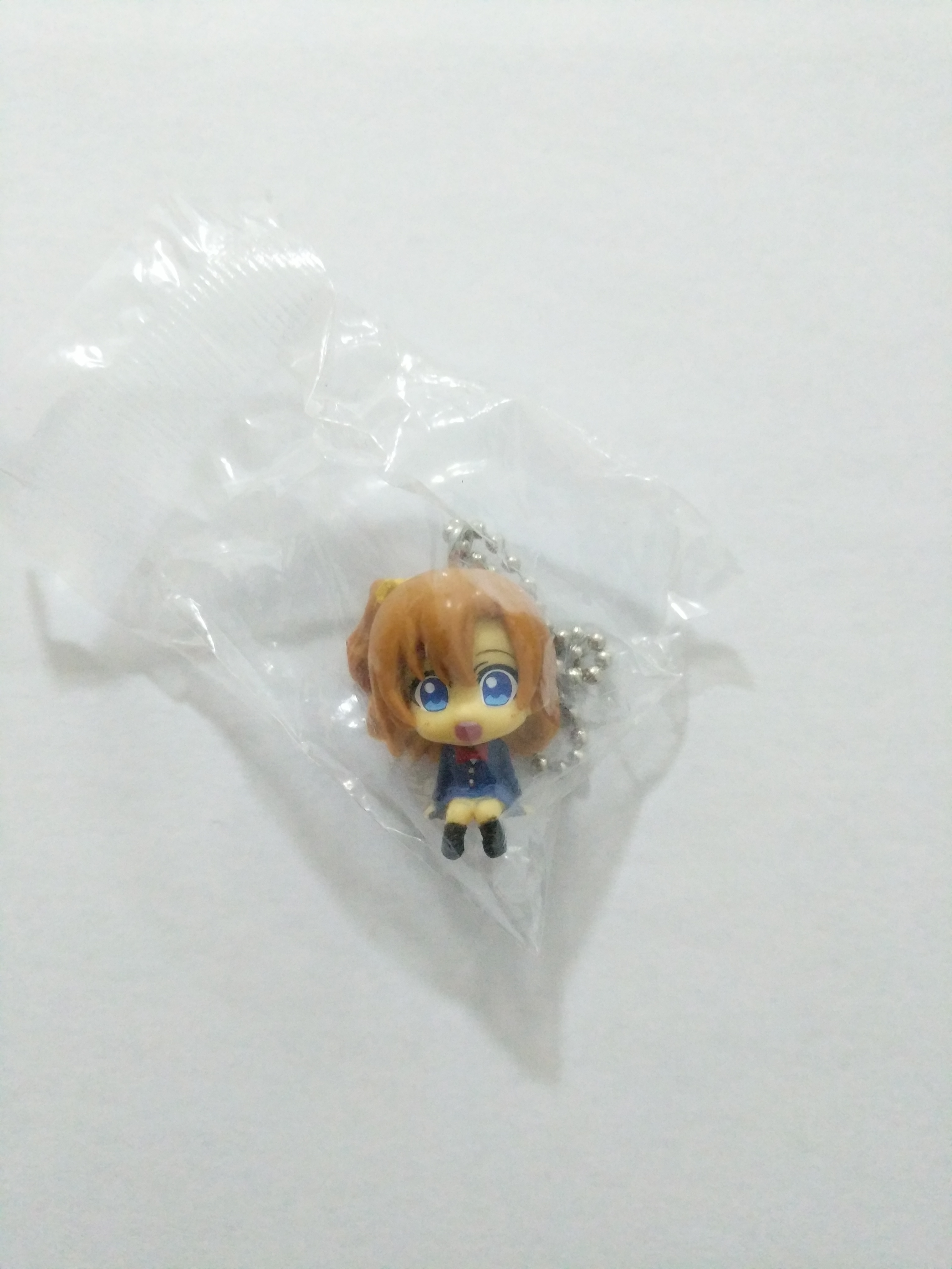 Honoka winter uniform mini figure strap