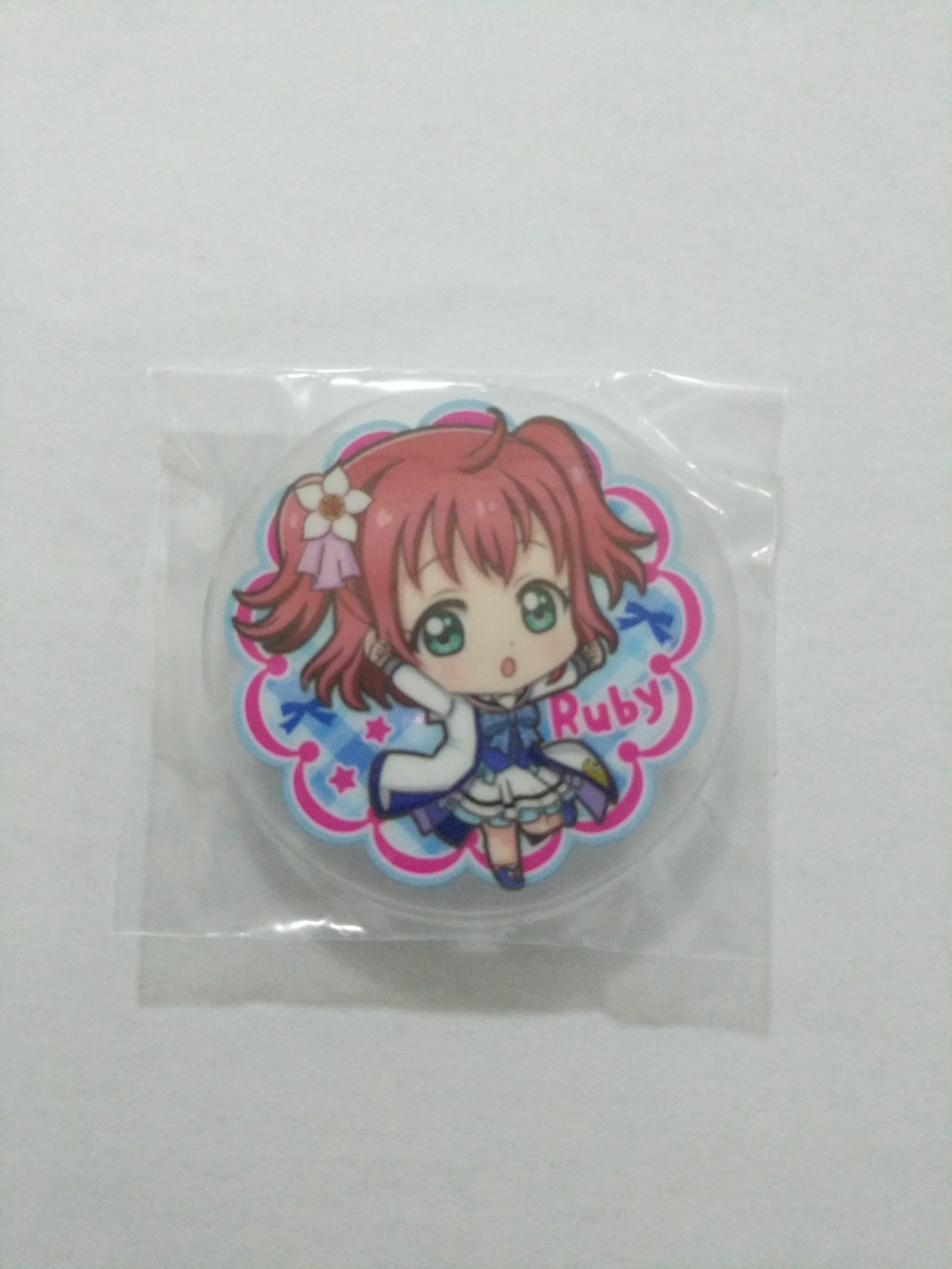 Ruby Mirai no bokura wa shitteru yo acrylic badge