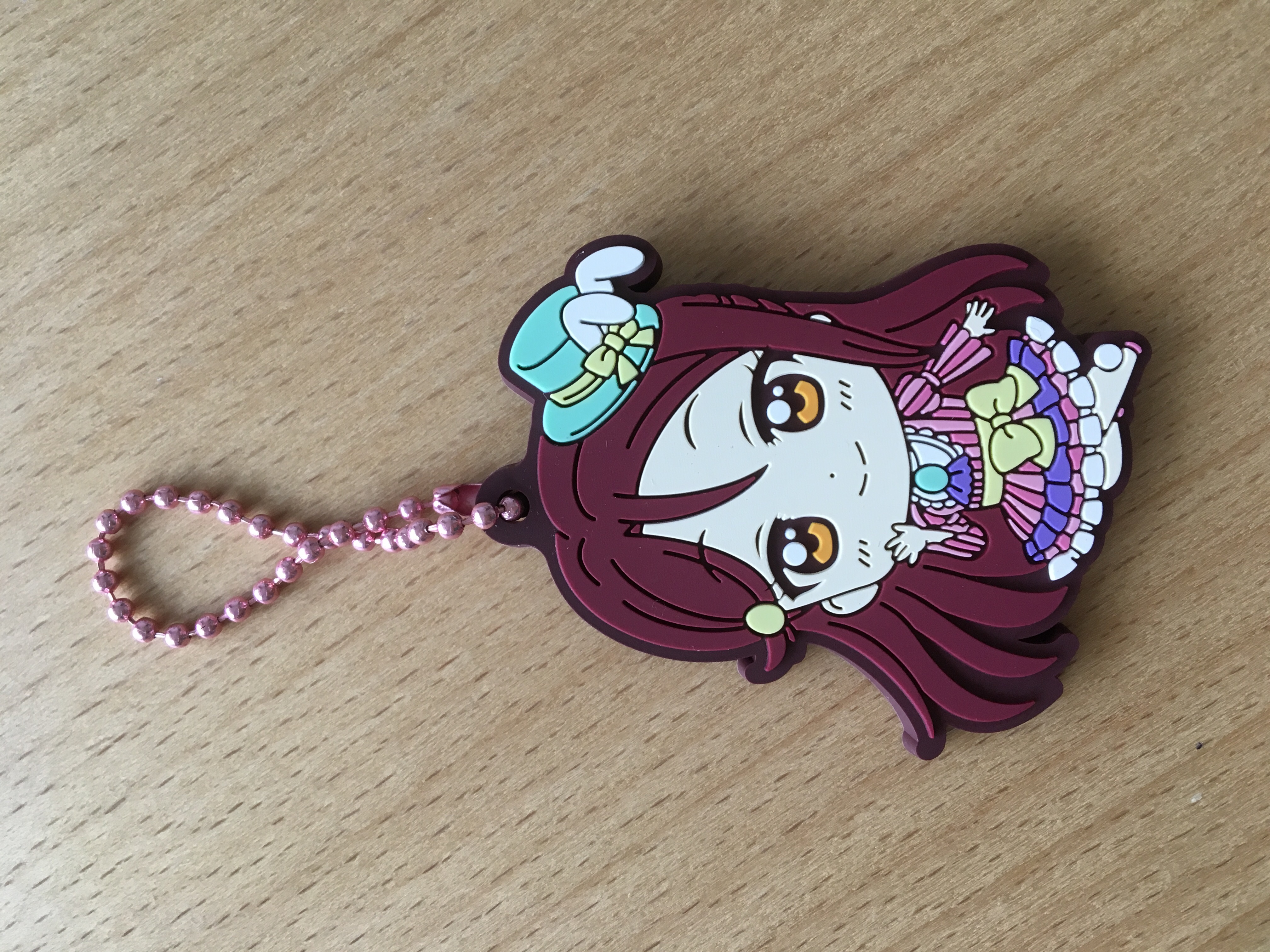Easter rubber strap (also known as Alice in Wonderland)