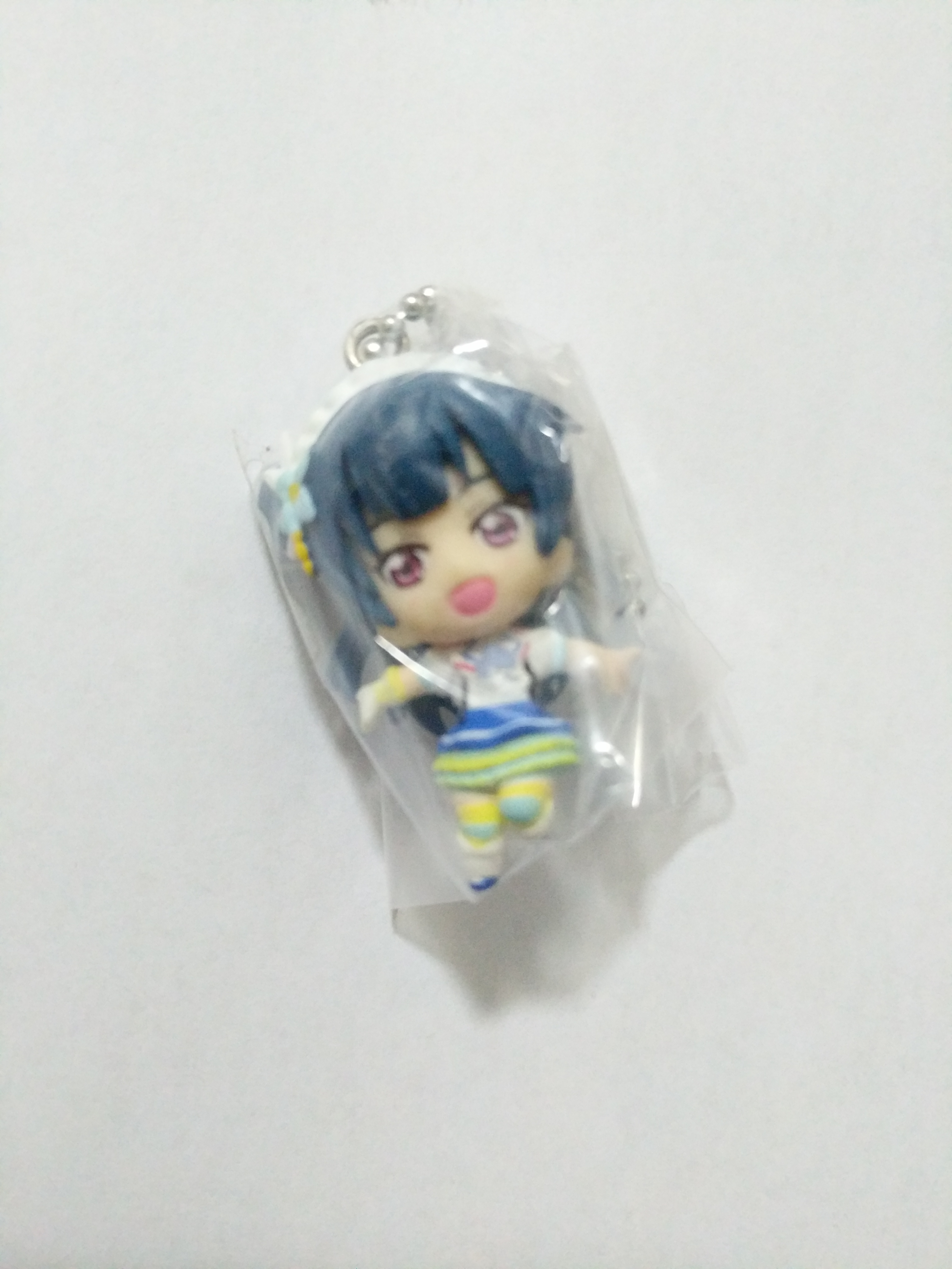 Yohane Aozora Jumping Heart mini figure strap